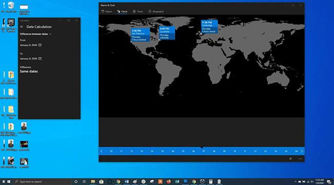 Đo đạc tính toán trong Windows 10