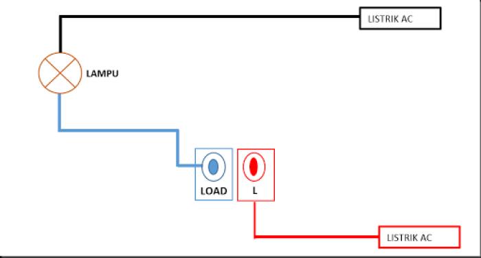 cara install saklar sensor gerak type 2