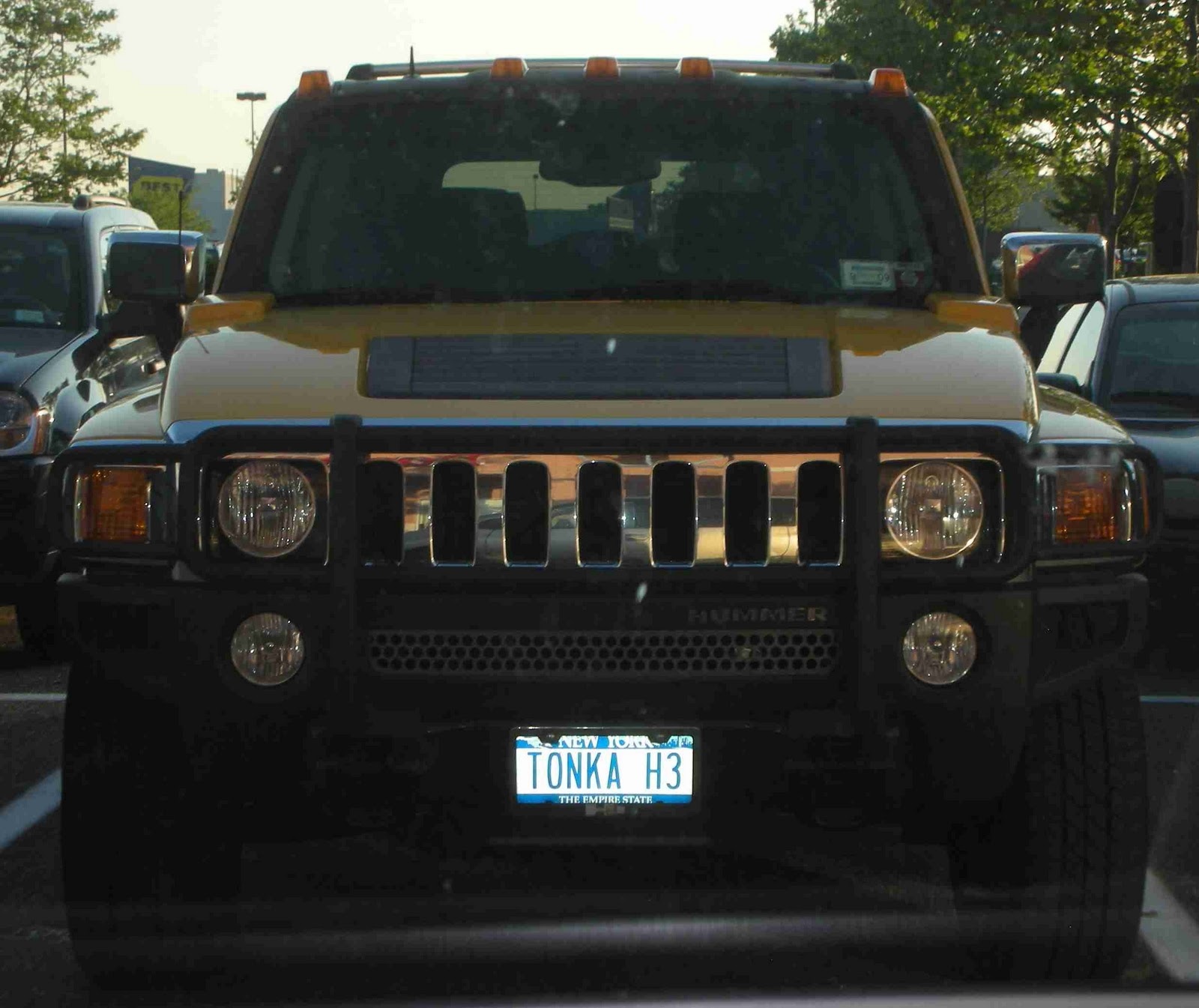 Funny License Plates TONKA H3 So you re telling me your Hummer