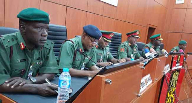 Image result for Army sets up four-man Committee to investigate Maiduguri killings