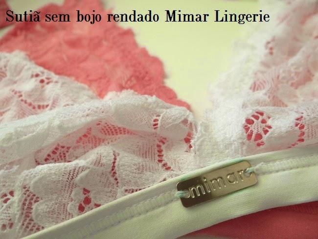 b29a41456 Sutiã sem bojo rendado Mimar Lingerie Specialità Lingerie