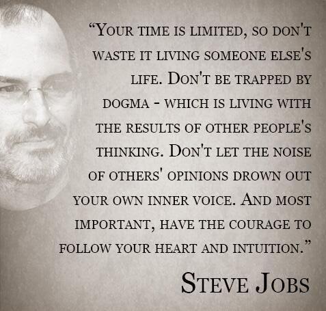 steve jobs quote leadership