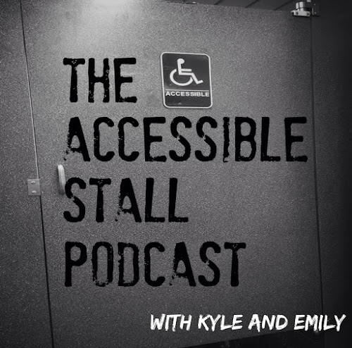 The accessible stall podcast logo