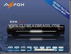 ATUALIZAÇÃO AZFOX Z2S PLUS V2.10B