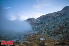 La niebla se retira. © aunpasodelacima