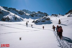 La nieve caída el día anterior ha dejado el monte espectacular. © aunpasodelacima