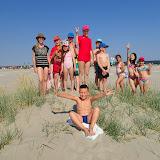 Pe dune de nisip, pe malul marii