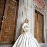 beautiful hijab style fashion for brides 2016