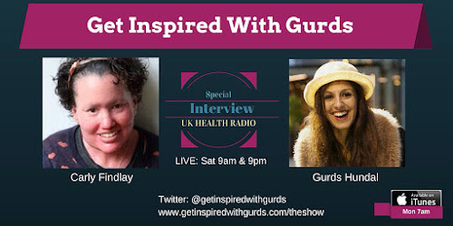 Carly Findlay And Gurds Hundal podcast ad