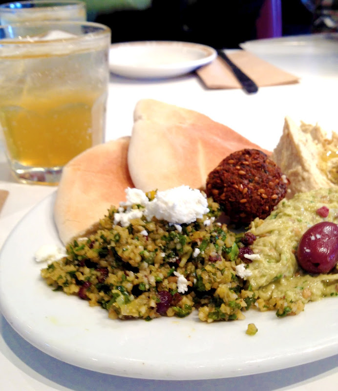 Mediterranean plate from Saul's
