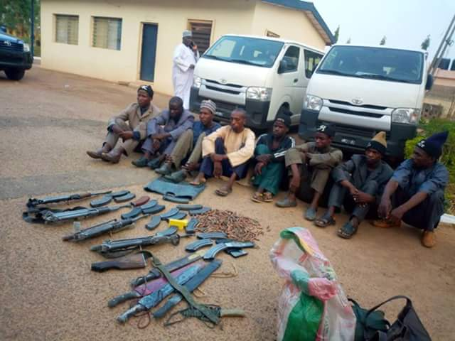 Immigration Officers Arrest Boko Haram Terrorists In Katsina,Recover Weapons