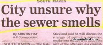 Sewer Smells