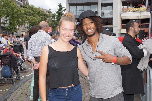 Jorunn Vanneste met Malik op de foto