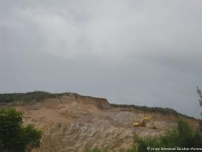 Explotación minera en la Laguna de La Herrera