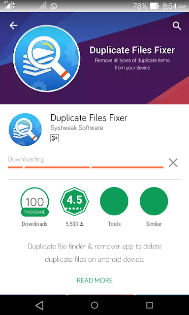 HOW TO FIND AND REMOVE DUPLICATE FILES ON ANDROID 1