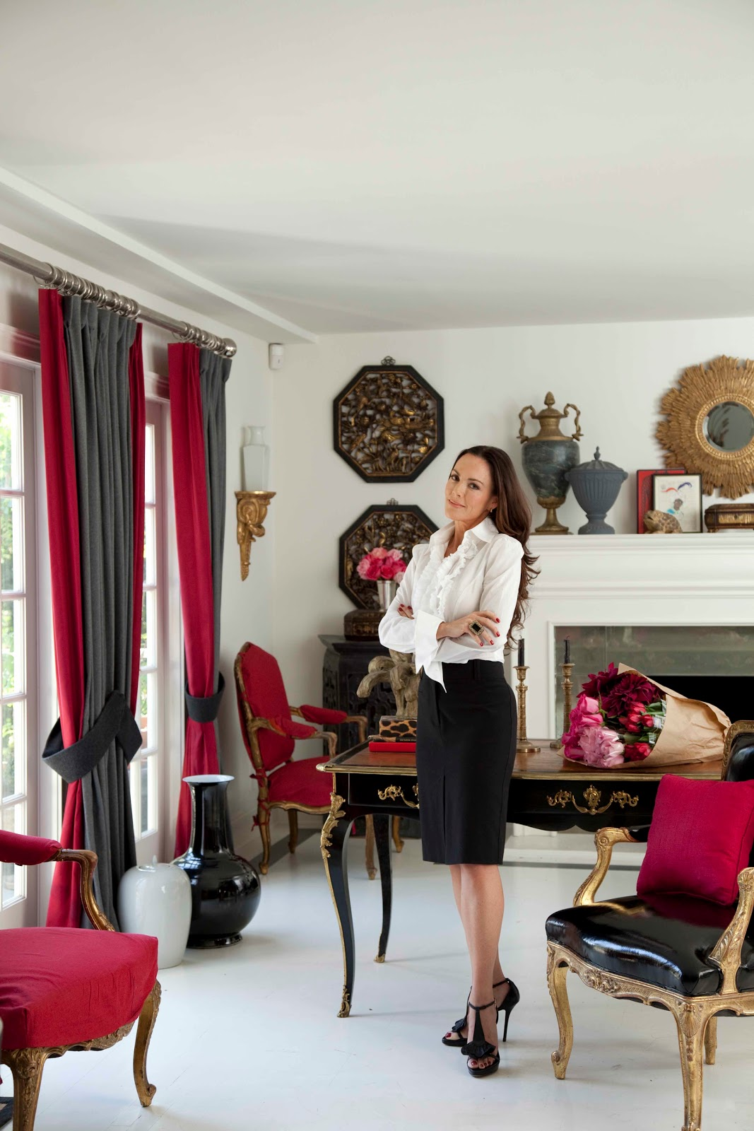 Classic decadence interview with mary mcdonald the well appointed house blog living the well for Interview with a professional interior designer