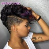 short hairstyles for african hair 2017