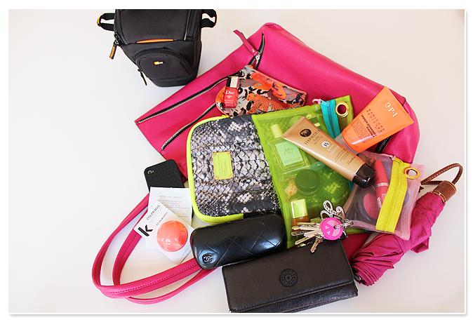 Vandaag in de handtas: neon + sunshine, baby!