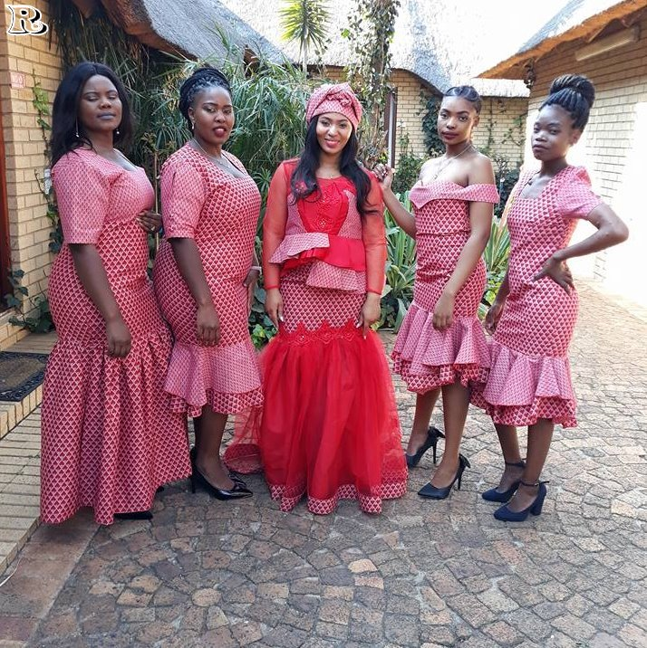 Seshweshwe dress 2018