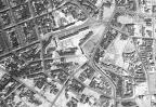 Luftaufnahme des Waldstraßenviertels aus dem Jahr 1953 - Südost