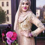 fashionable hijab styles for wedding 2016