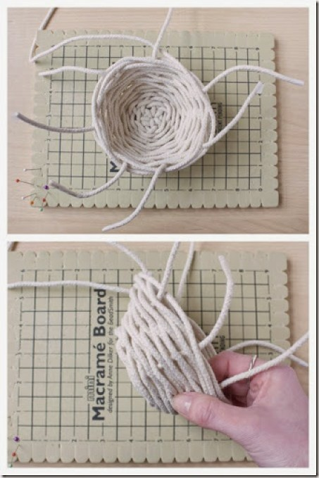 DIY Rope Basket Tutorial