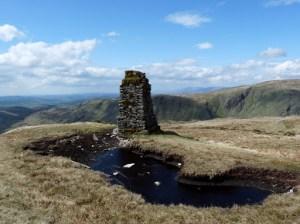 Tarn Crag summit Survey Pillar