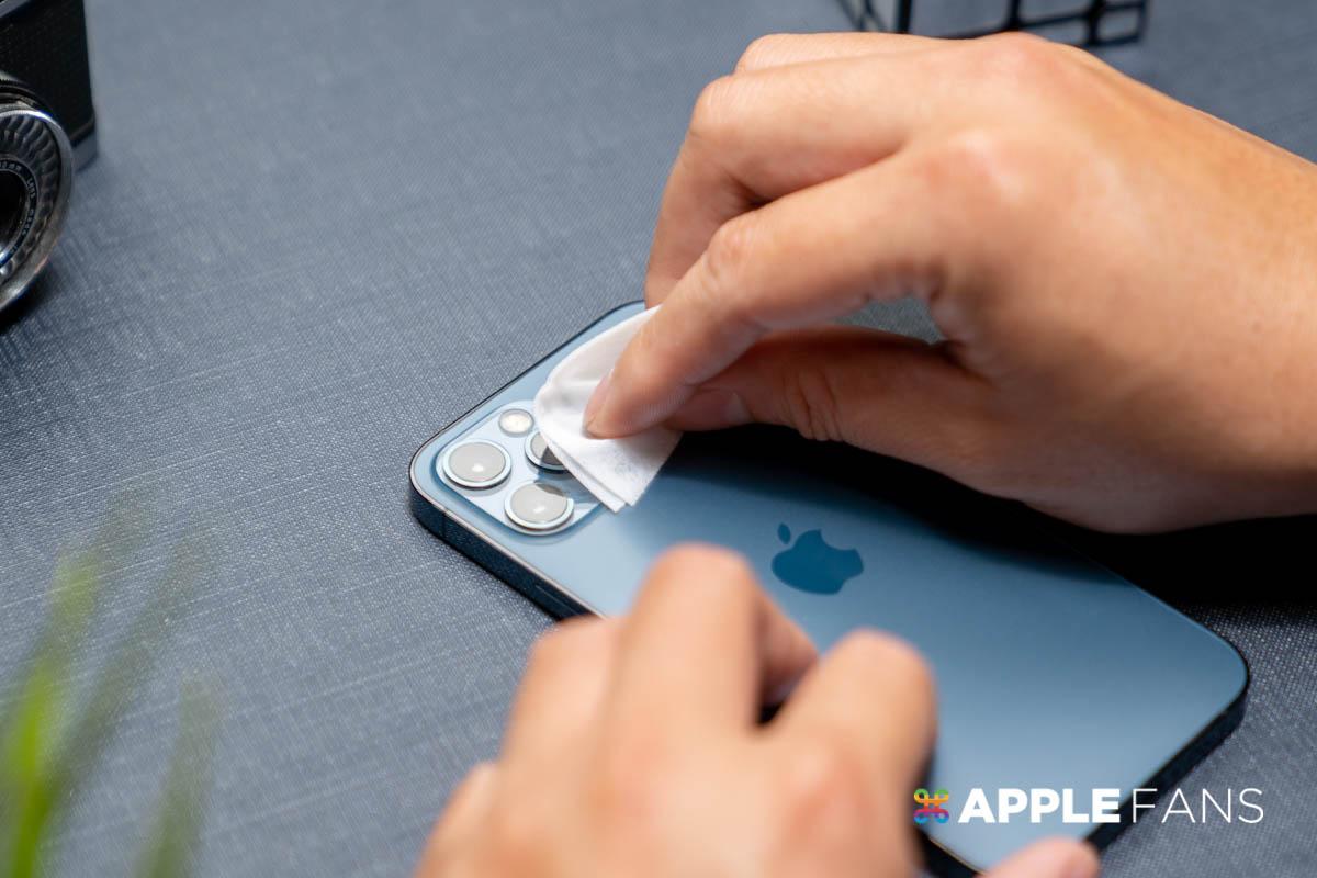 iPhone 12 Pro 鏡頭貼 Simmpo 鏡頭貼 清潔