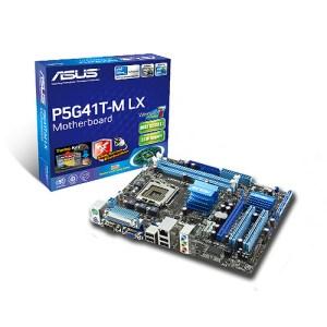 Cerita Motherboard ASUS P5G41T-M LX