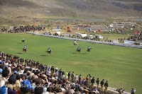 free style polo under progress at Shandur