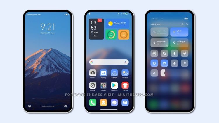 [DOWNLOAD] : V2V3 MIUI Theme with Minimal and Clean Looks for Xiaomi Devices
