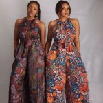 Ankara Maxi gown and the-Shoulder Dress 2018