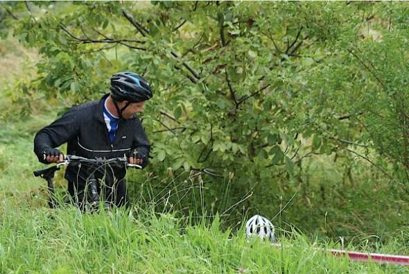 Mountainbiken op Schiervelde