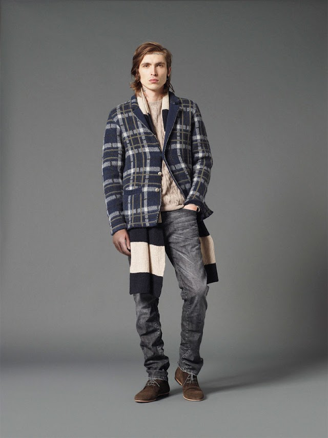 *Mauro Grifoni 和她的男人M.Grifoni Denim :Fall/Winter 2012-13 5