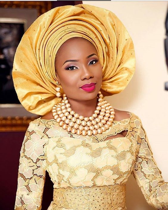 LATEST DIFFERENT AFRICAN JEWELRY TYPES FOR ATTRACTIVE WOMEN 2