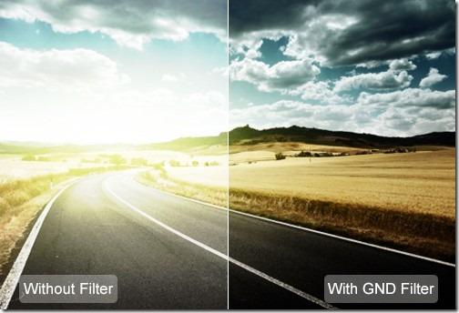 GND filter camera
