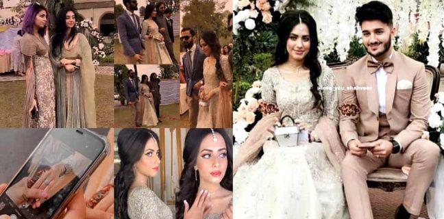 Youtuber Shahveer Jaffery and Fashion Designer Ayesha Beig got Engaged today