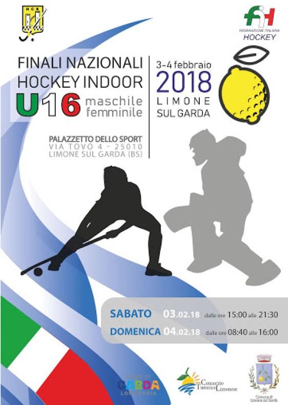Finali Indoor Under 16 – Limone 3/4 febbraio 2018