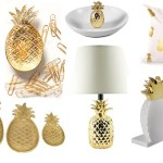 20 Beautiful Gold Pineapples For Home Decor The Kim Six Fix
