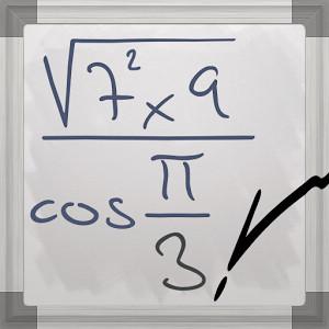 #MyScript©計算機:以手寫方式來解數學方程式 (Android App) 1