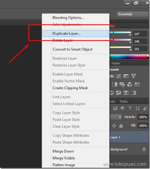 tutorial trik membuat bubble efek photoshop