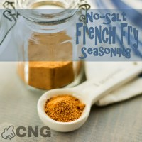 No-Salt French Fry Seasoning