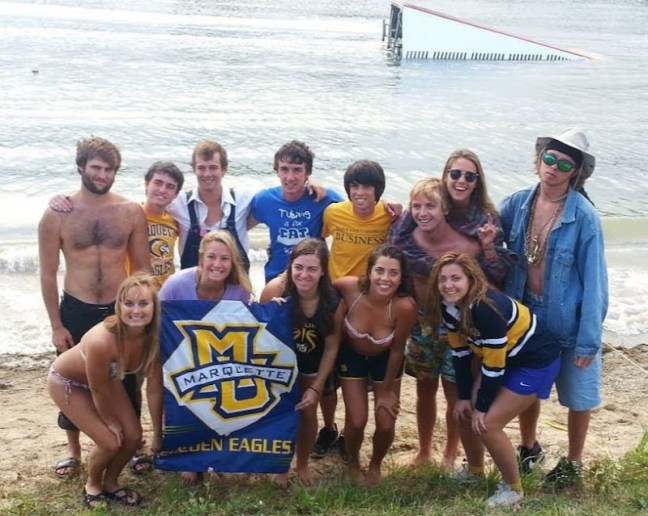 2013 Marquette Water Ski Team