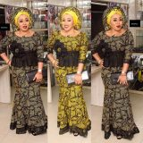 Beautiful Asoebi In Lace Style 2017