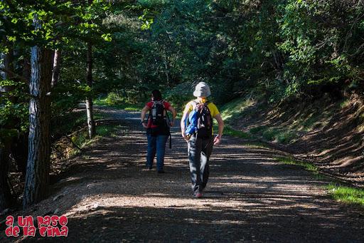 Comenzando la ruta por esta cómoda pista. ©aunpasodelacima
