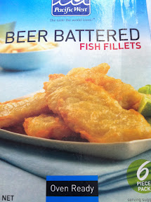 Helloooo sanity saving Pacific West beer battered fish fillets