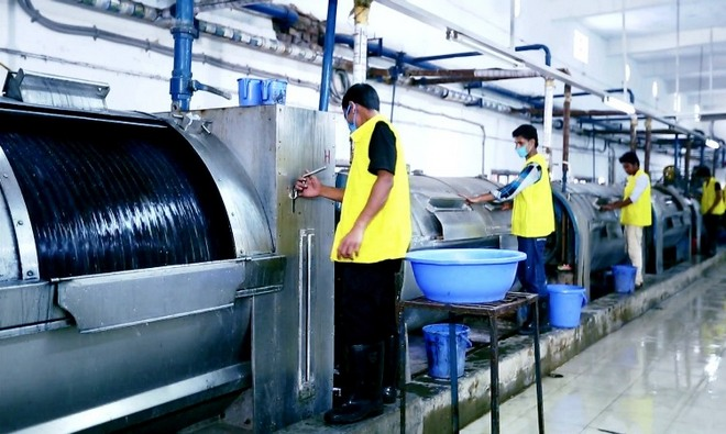 Wet Process in Garments Washing