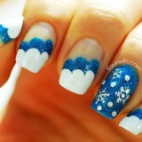 wonderful winter nail art ideas 2016