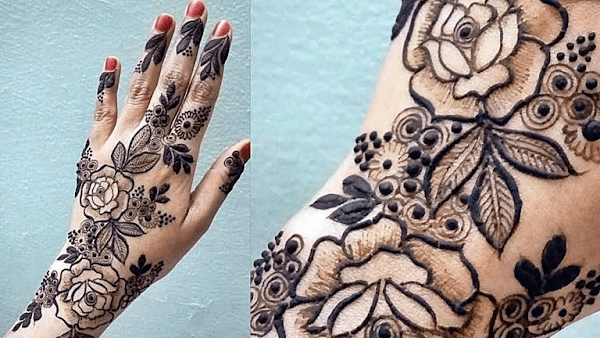 Simple Kids Mehndi Designs for Awesome look