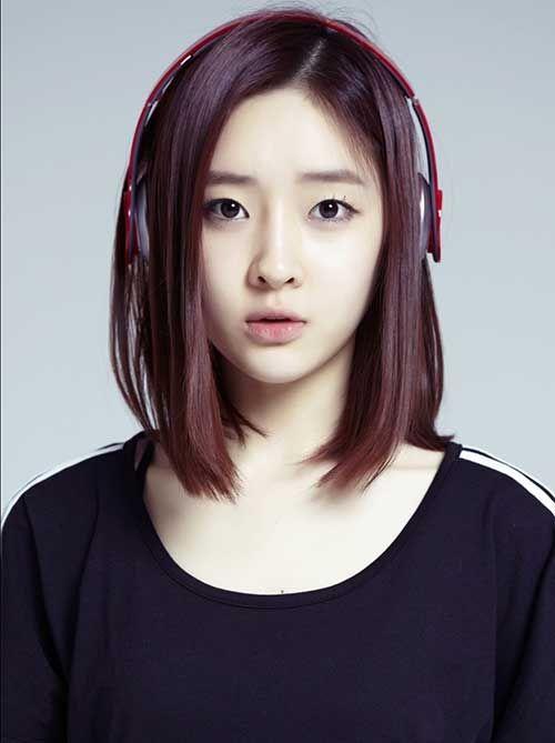 Asian Girls Hairstyle  Korean Girl Short Hairstyle  YouTube